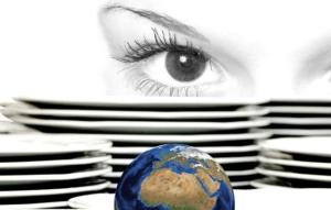 Welt begutachten