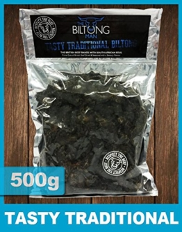 The Biltong Man Leckere traditionelle Biltong (500g) -