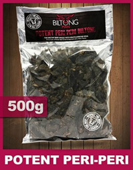 The Biltong Man Potente Peri-Peri Biltong (500g) -